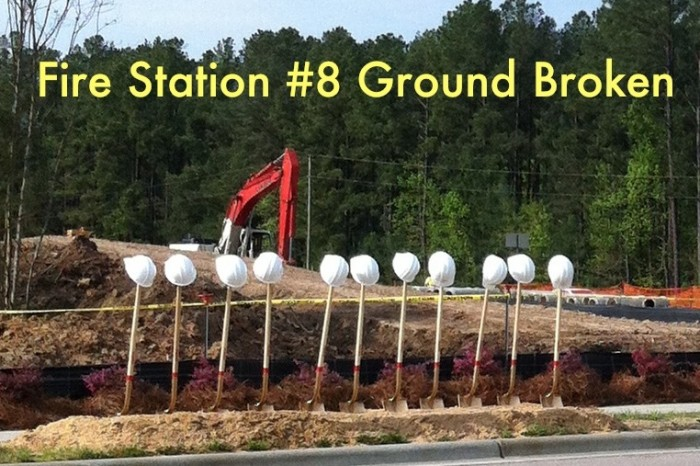 Green fire station coming soon