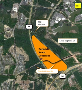 Parkside Town Commons Map