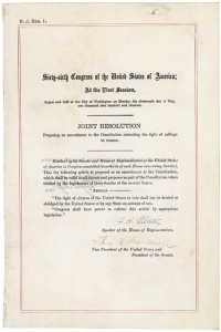 19th Amendment (National Archives)