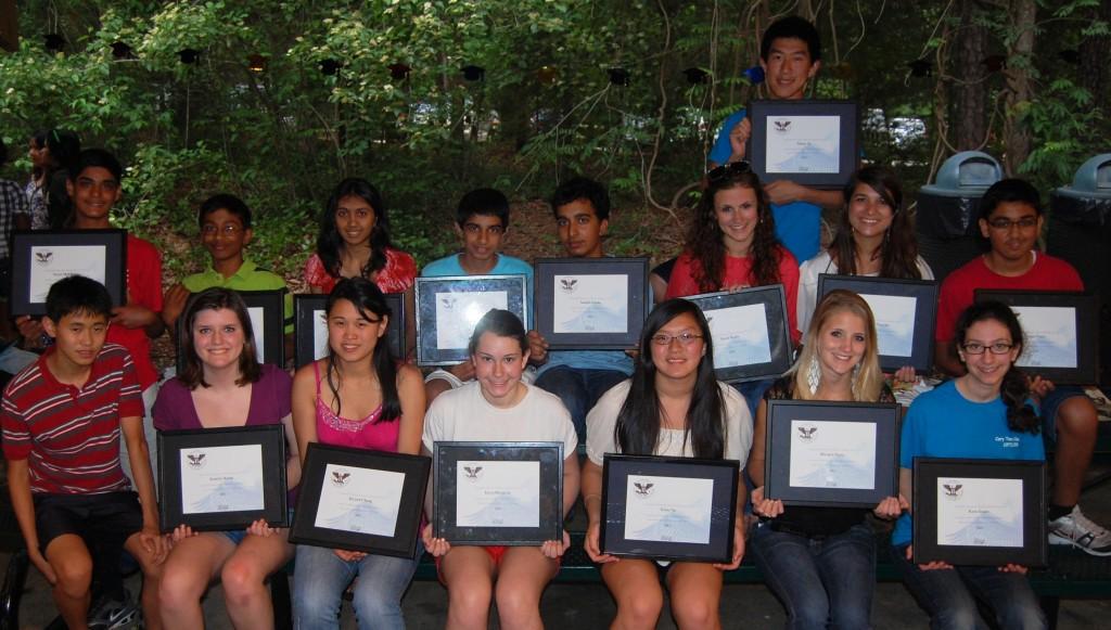 Teen Council Presidential Award Winners
