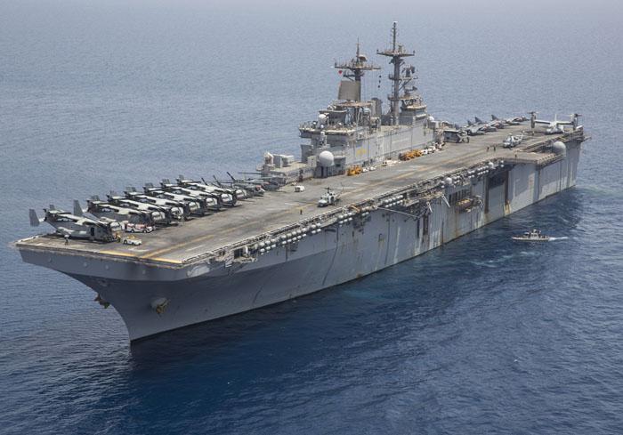 USS Kearsarge (Navy pic)