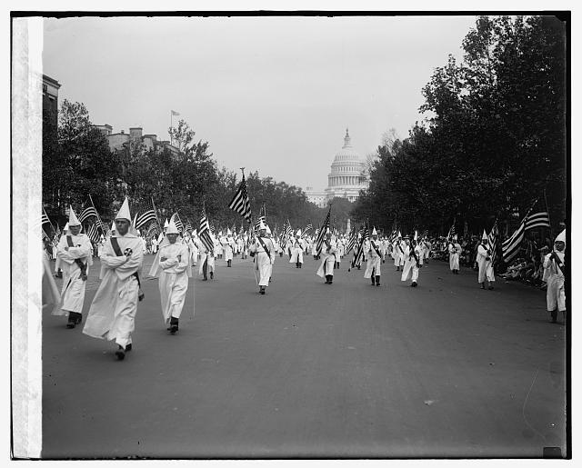 KKK parade