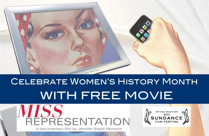 Miss Representation – Free Women's History Month Movie