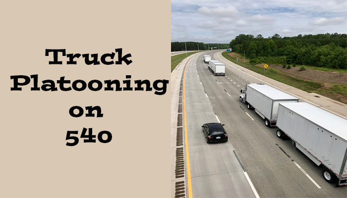 Platooning and Autonomous Trucking