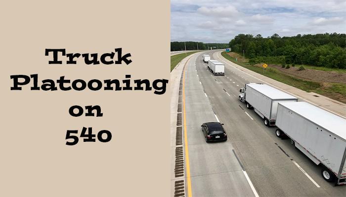 Platooning and Autonomous Trucking