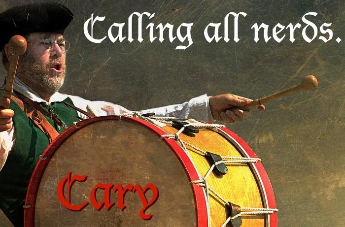 Calling all nerds