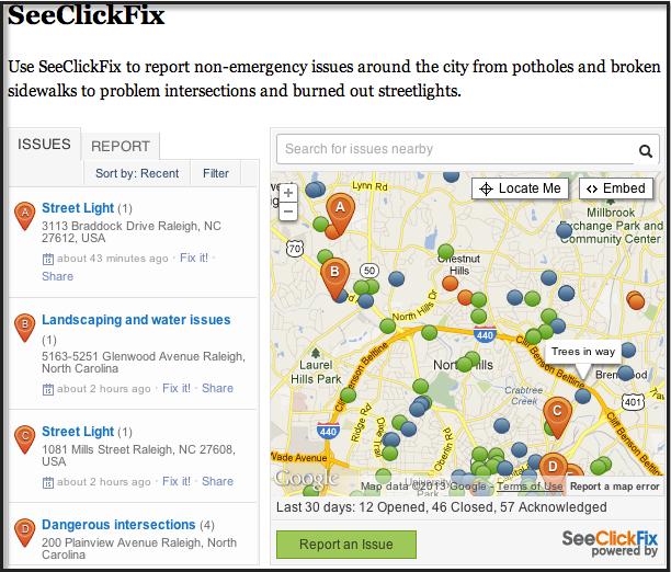 Raleigh's SeeClickFix