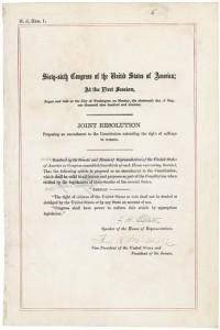19th Amendment (National Archives)