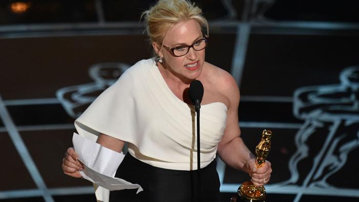 Patricia Arquette at the Oscars