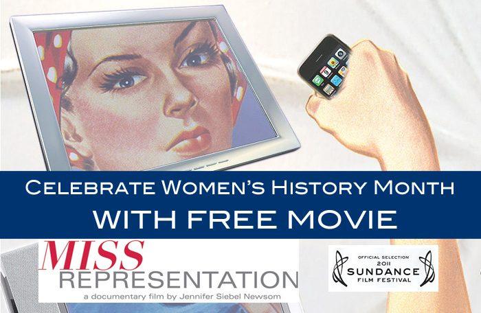 Miss Representation – Free Women's History Month Movie